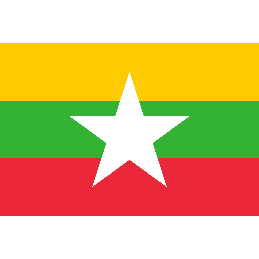 Republic of the union of myanmar flag icon