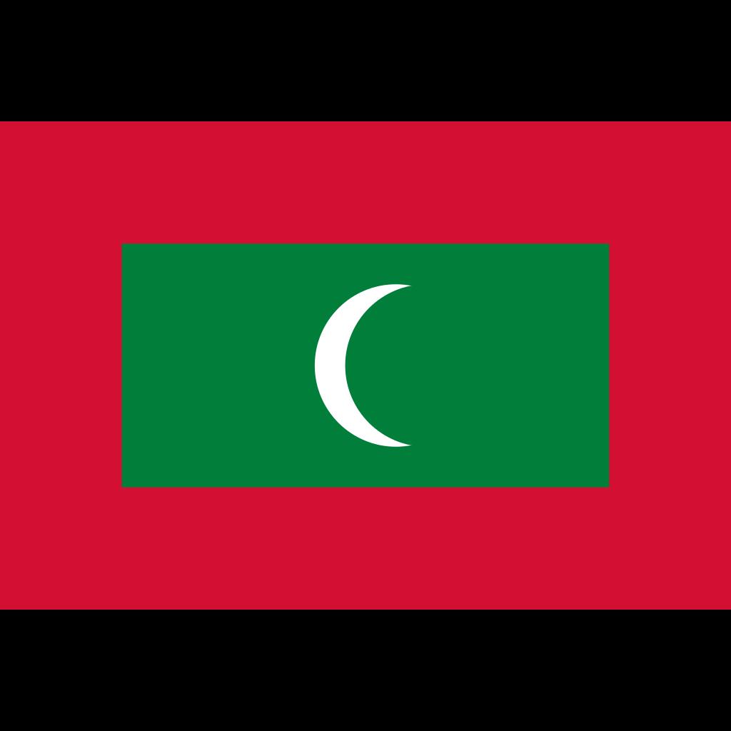 Republic of maldives flag icon