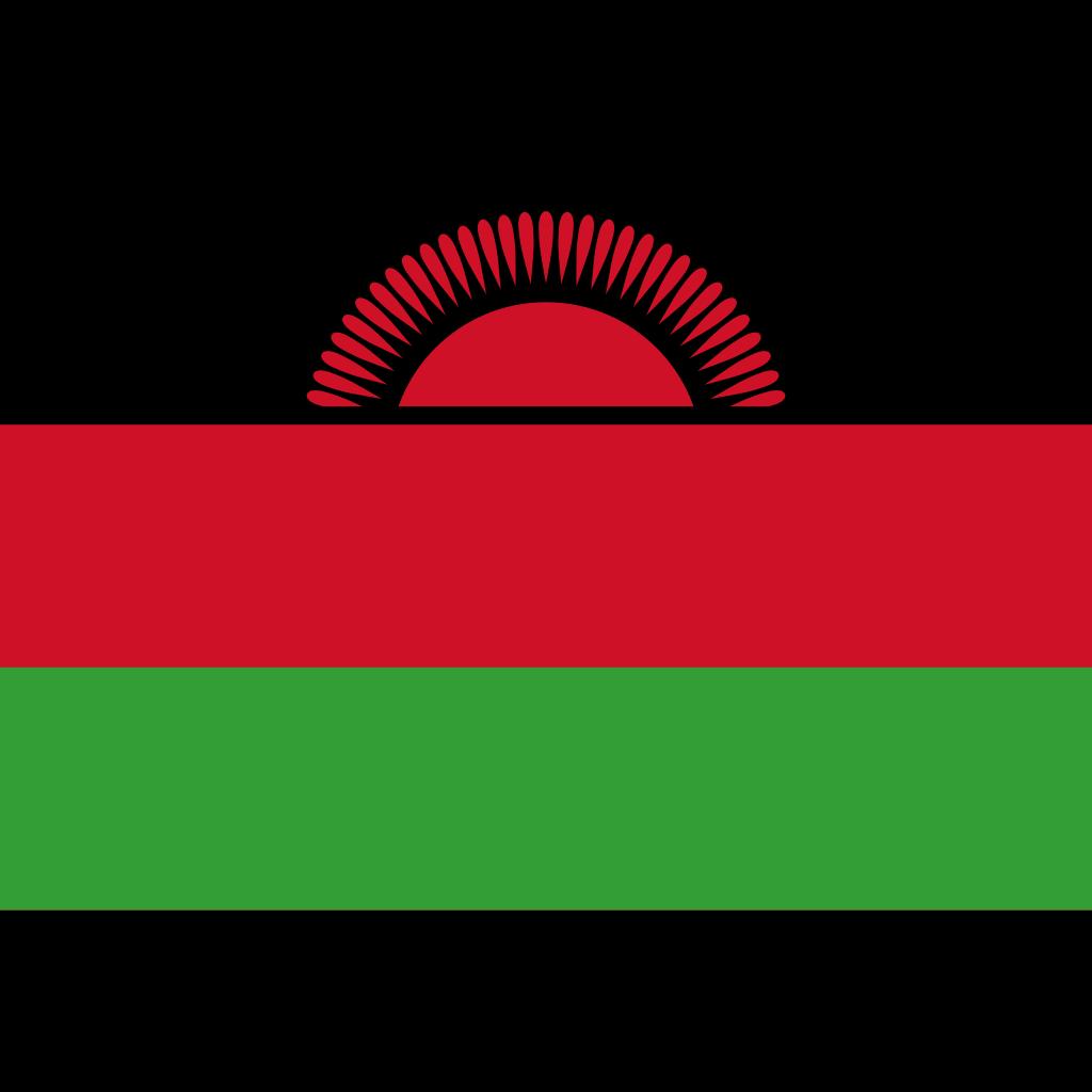 Republic of malawi flag icon