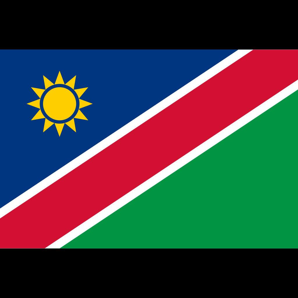Republic of namibia flag icon