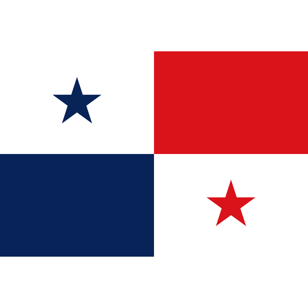 Republic of panama flag icon