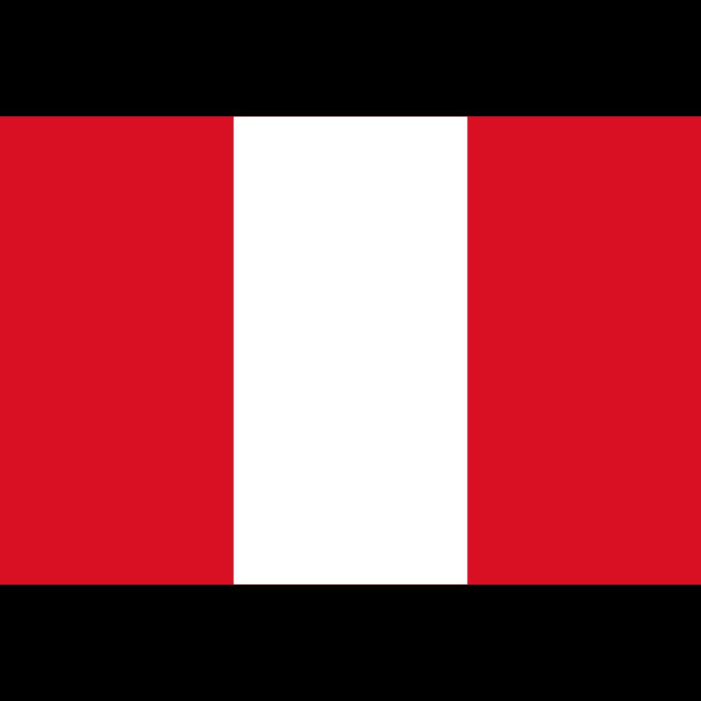 Republic of peru flag icon