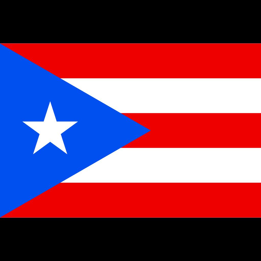 Commonwealth of puerto rico flag icon