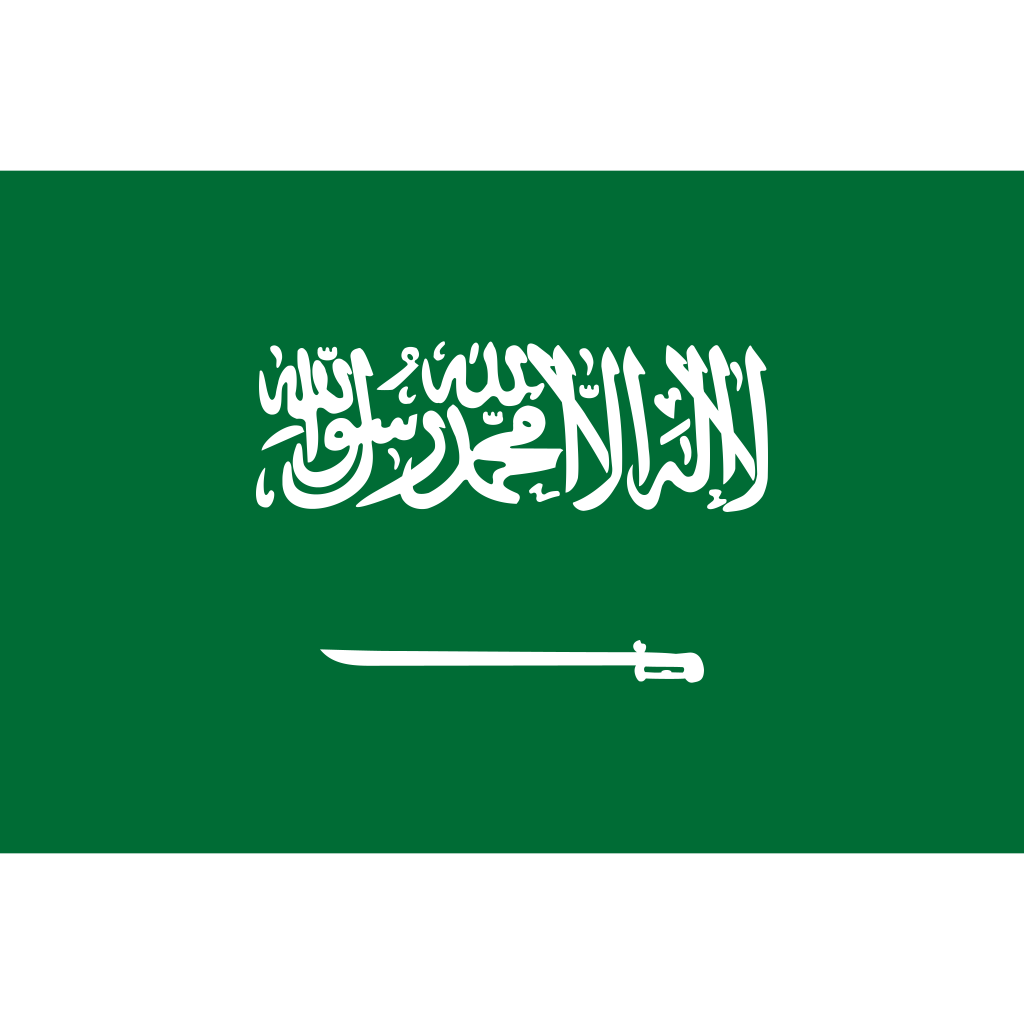 Kingdom of saudi arabia flag icon