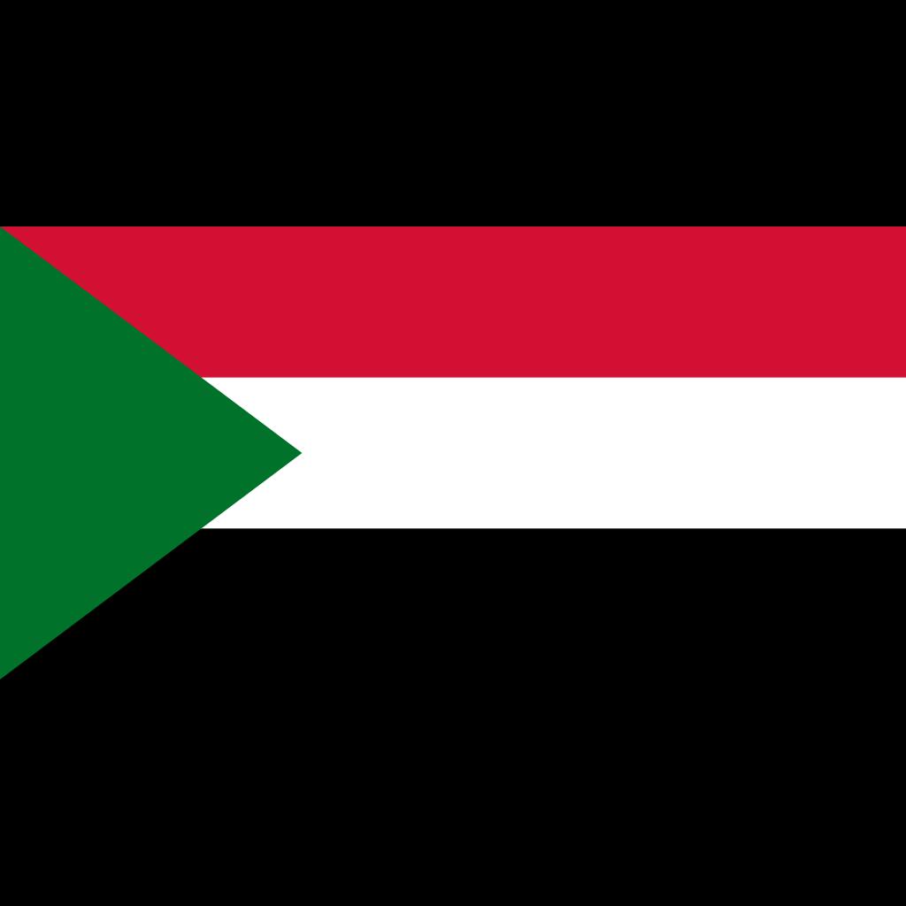 Republic of sudan flag icon