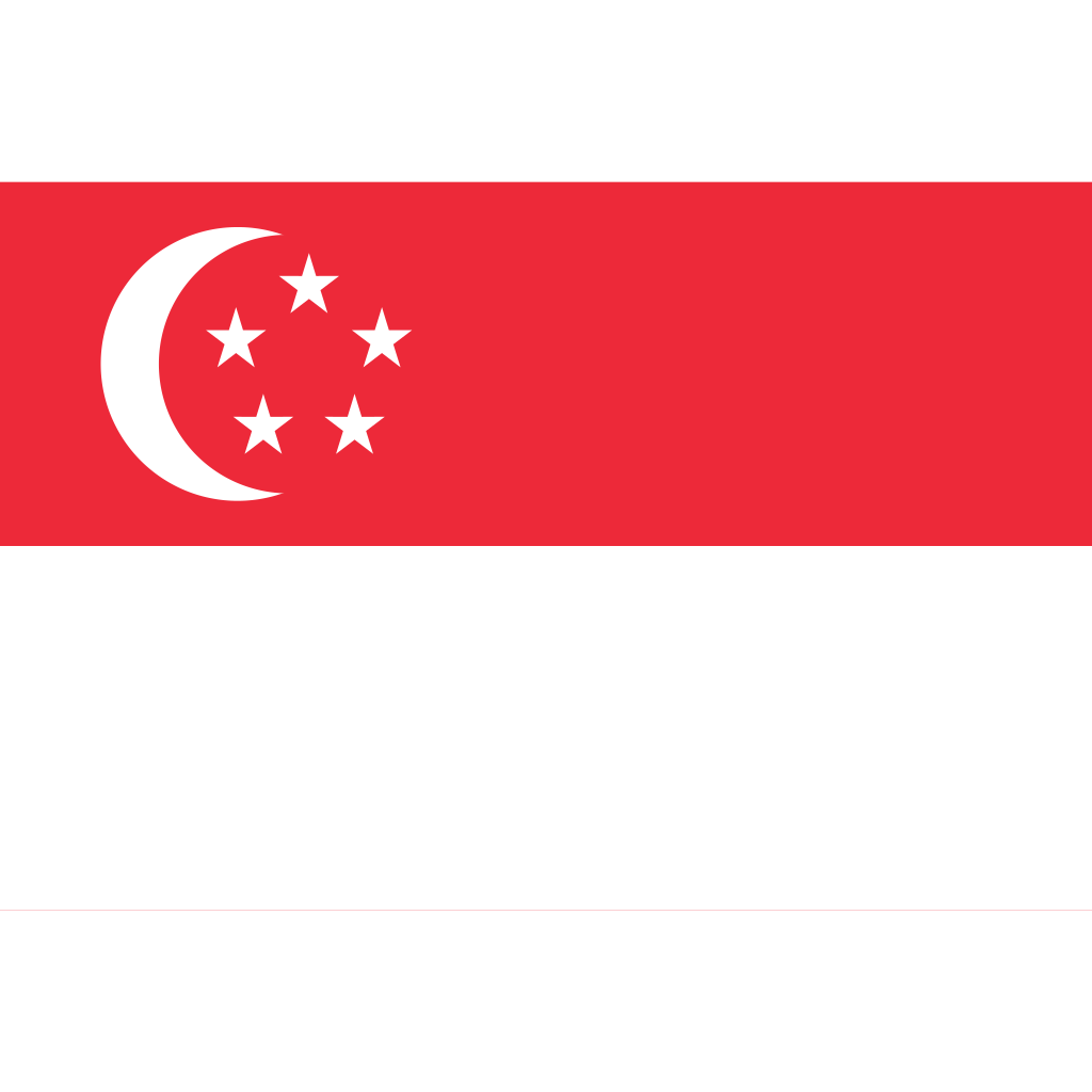 Republic of singapore flag icon