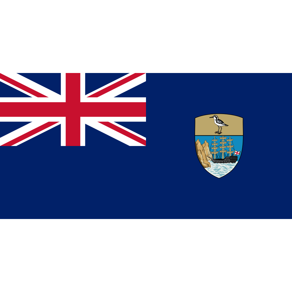 Saint helena, ascension and tristan da cunha flag icon