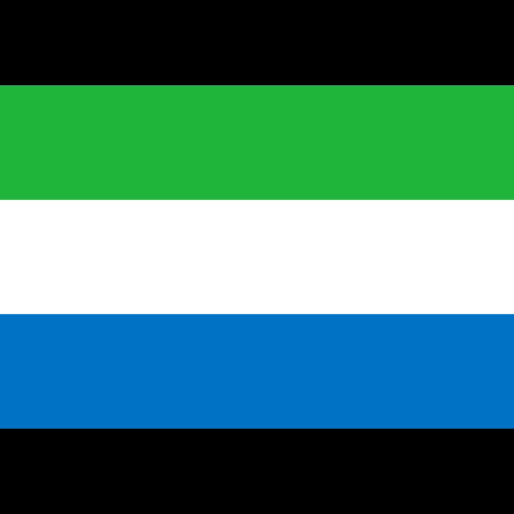 Republic of sierra leone flag icon