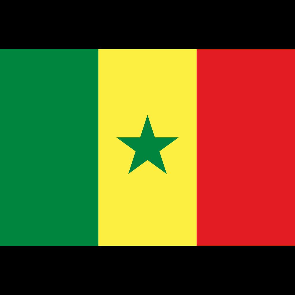 Republic of senegal flag icon