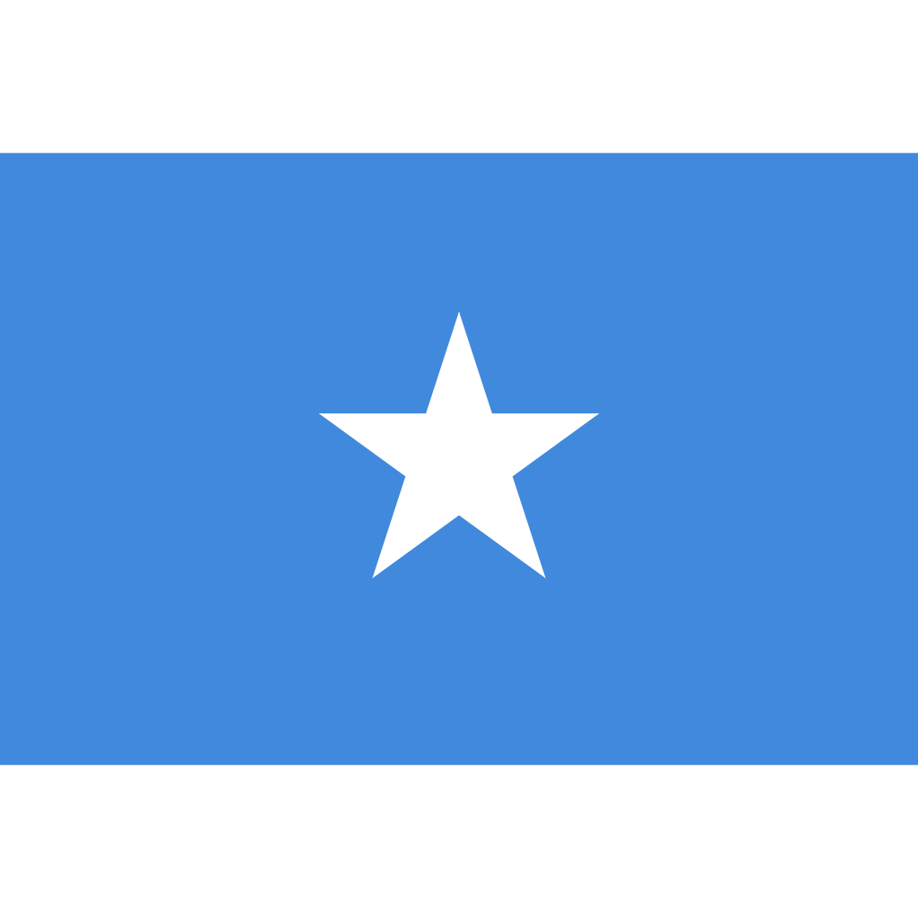Federal republic of somalia flag icon