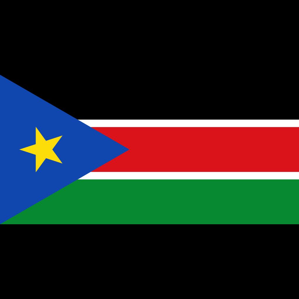 Republic of south sudan flag icon