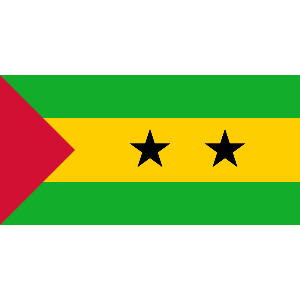 Democratic republic of sao tome and principe flag icon