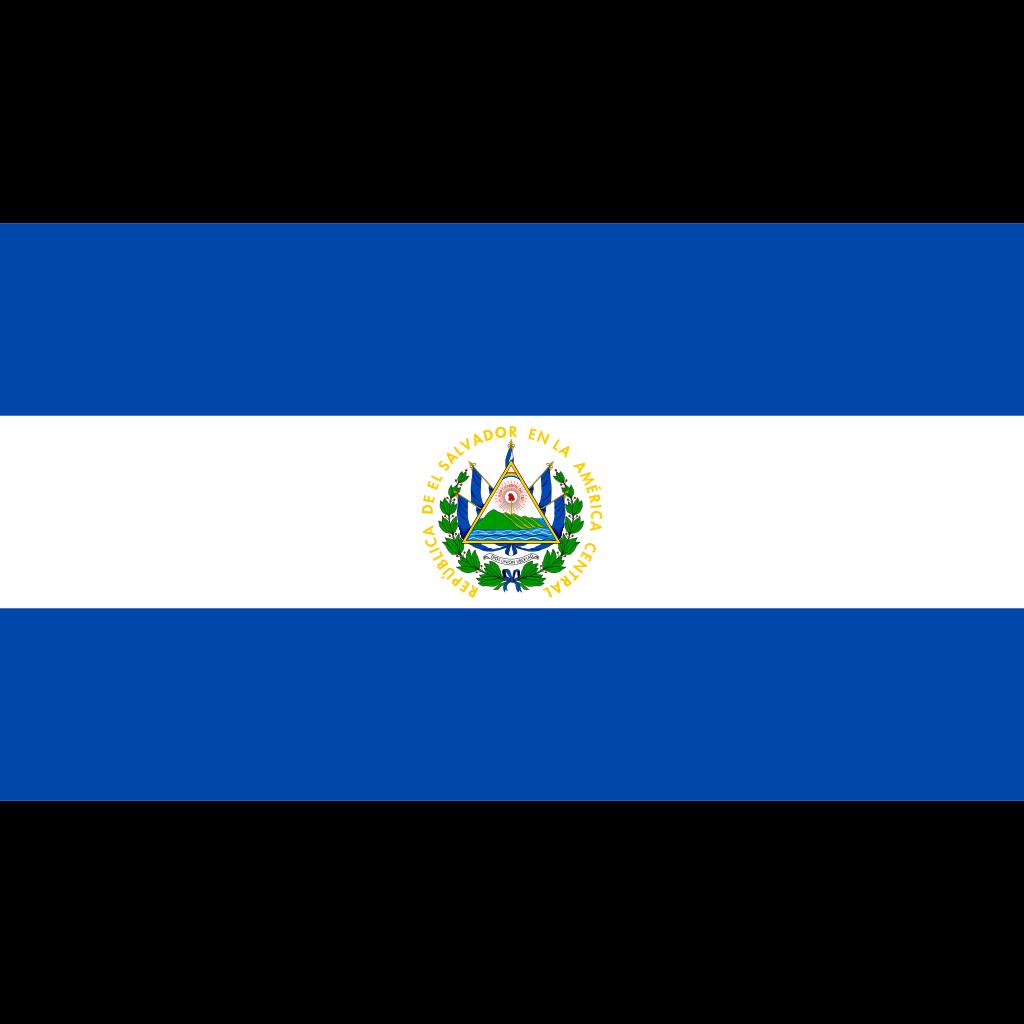 Republic of el salvador flag icon