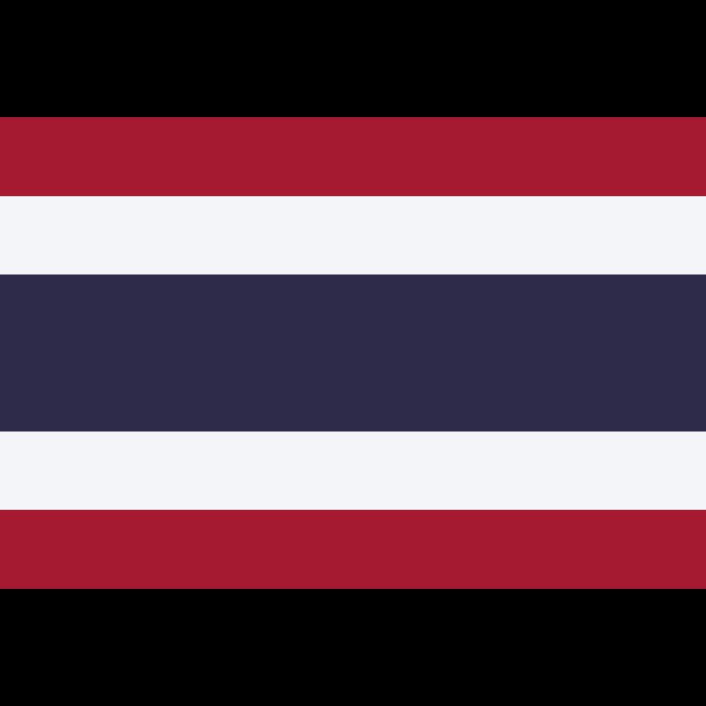 Kingdom of thailand flag icon