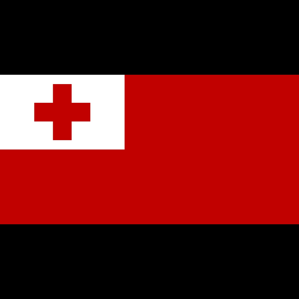 Kingdom of tonga flag icon