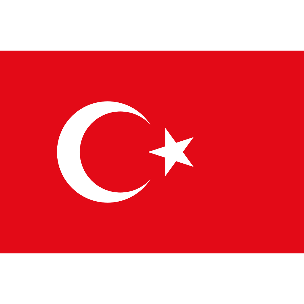 Republic of turkey flag icon