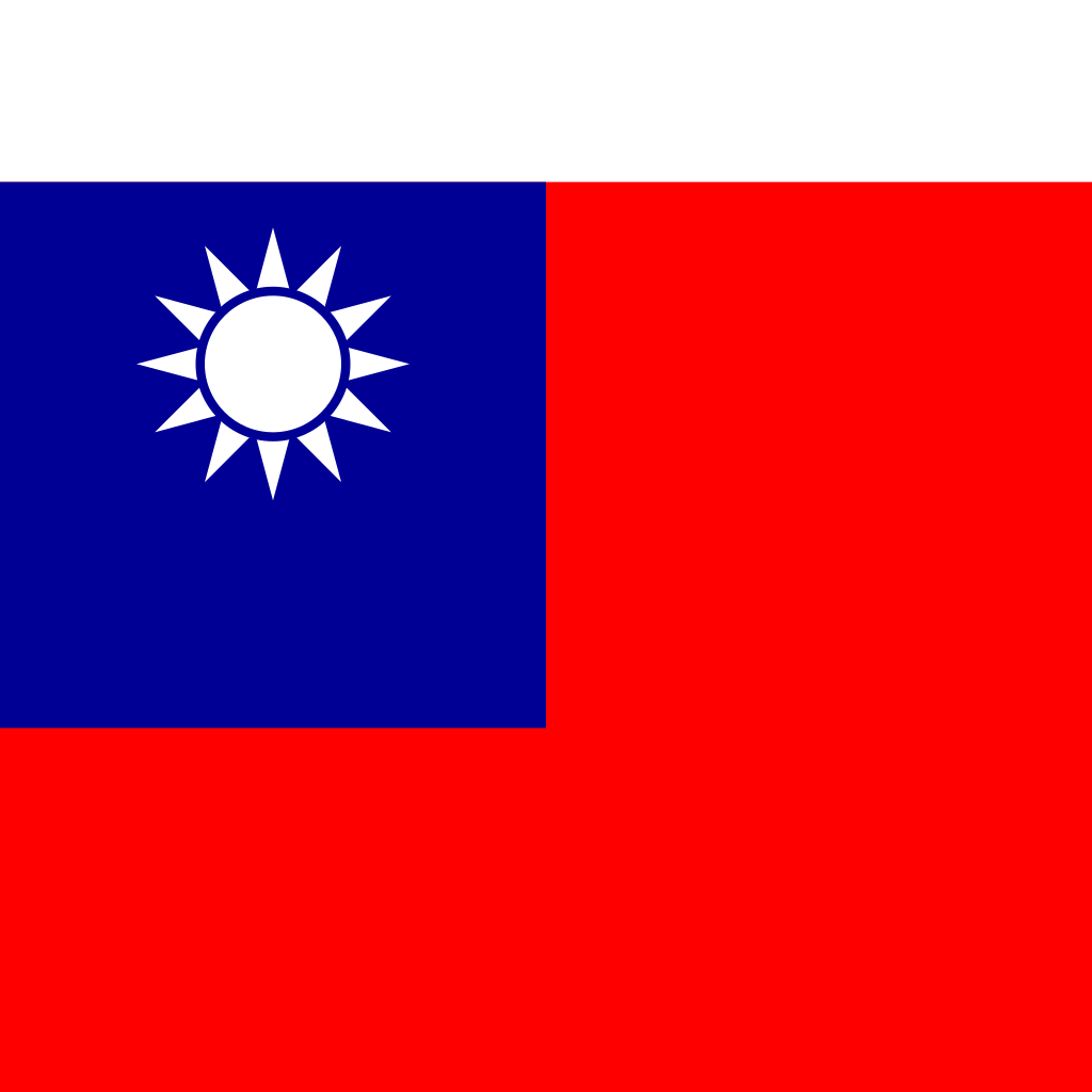 Taiwan, province of china flag icon