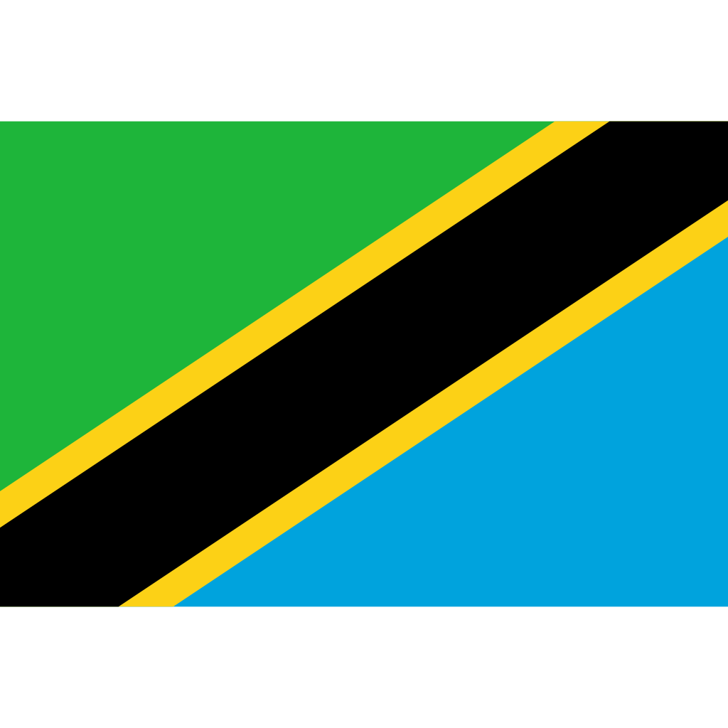 United republic of tanzania flag icon