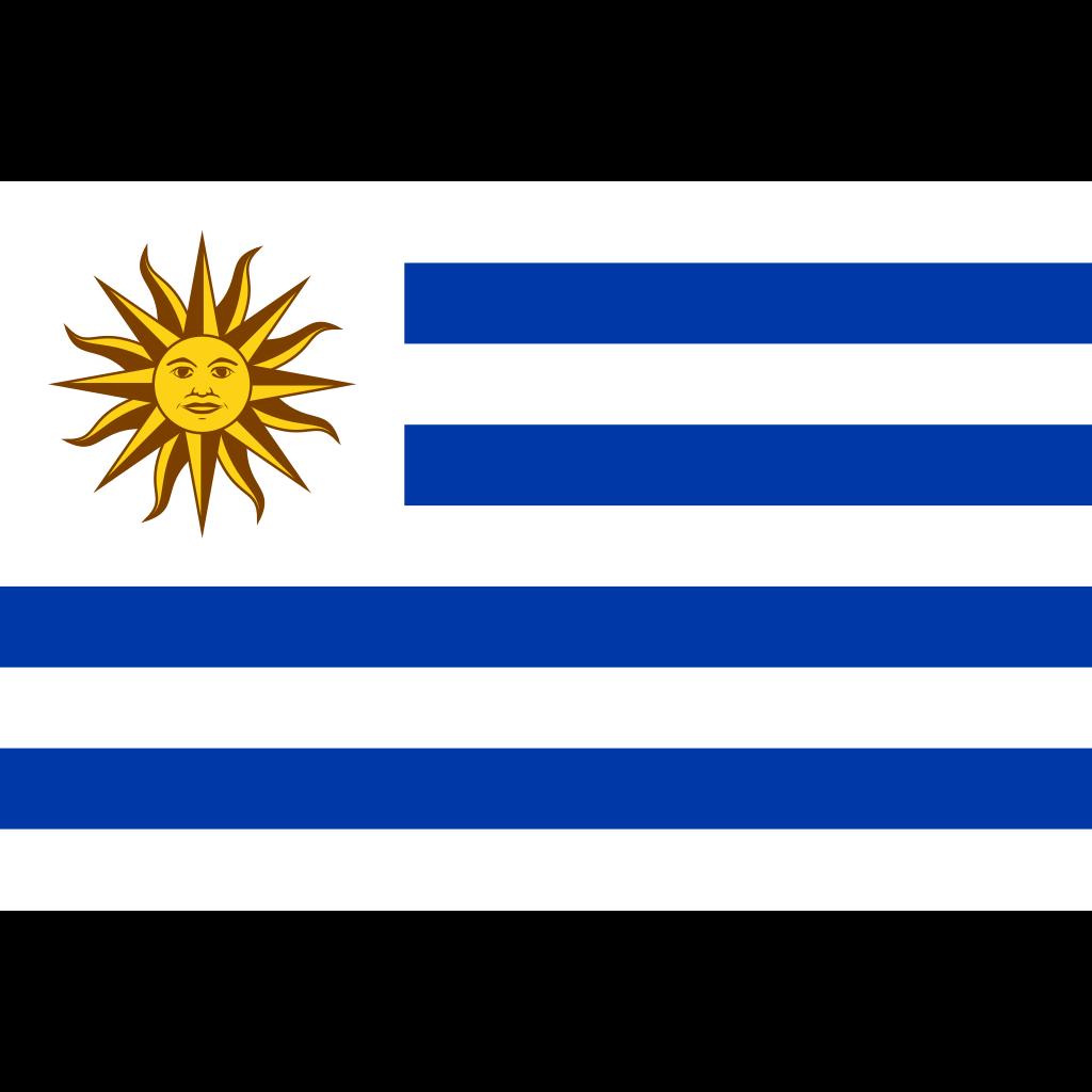 Eastern republic of uruguay flag icon