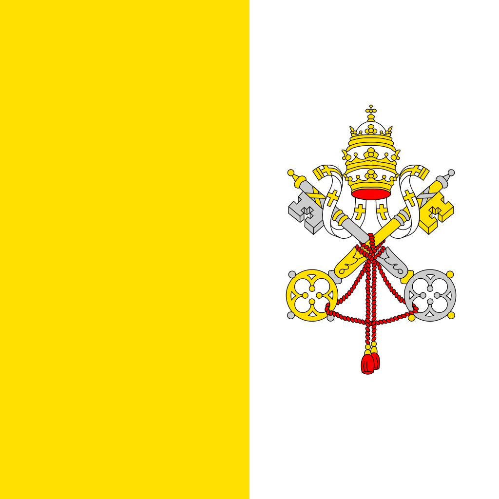 Holy see (vatican city state) flag icon