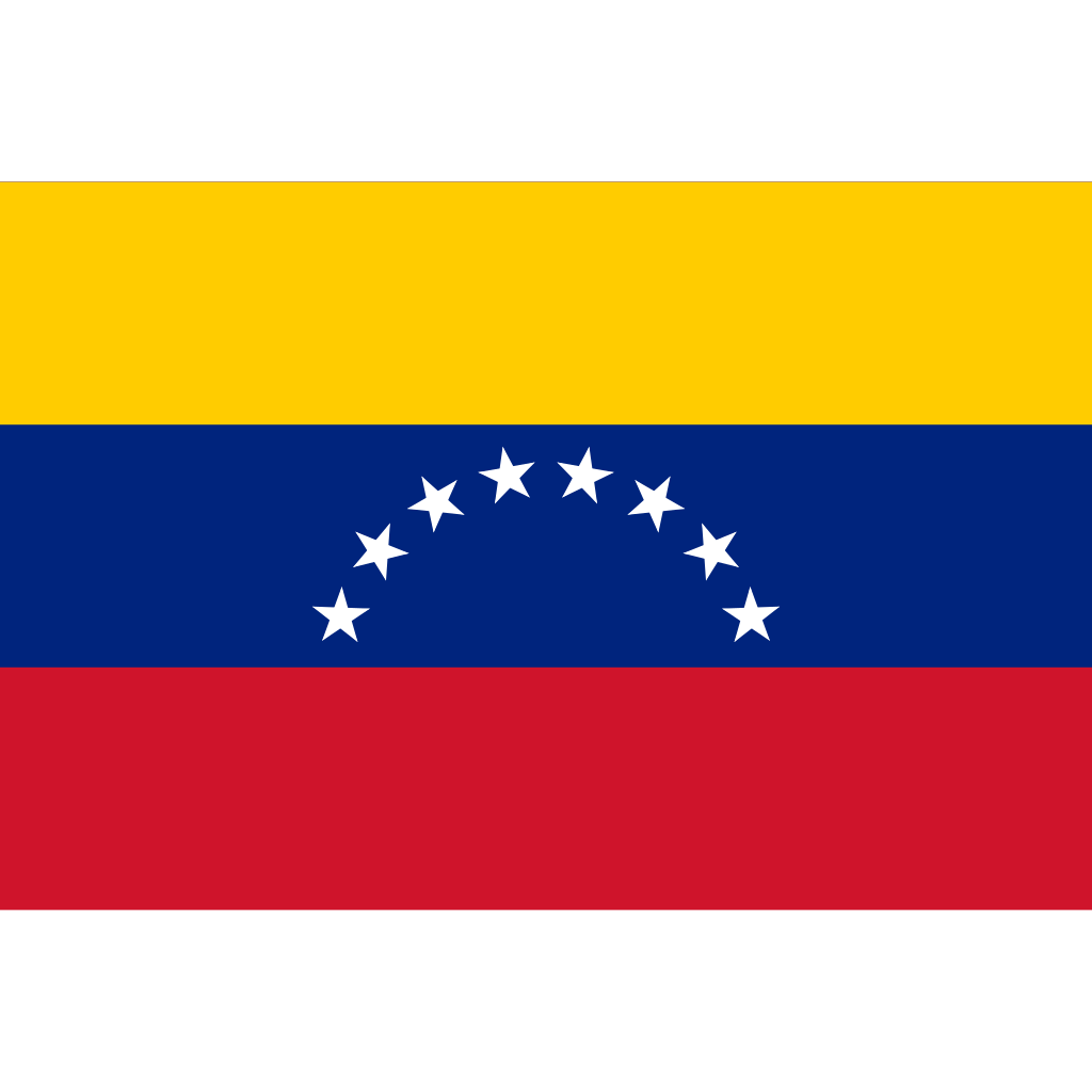 Bolivarian republic of venezuela flag icon