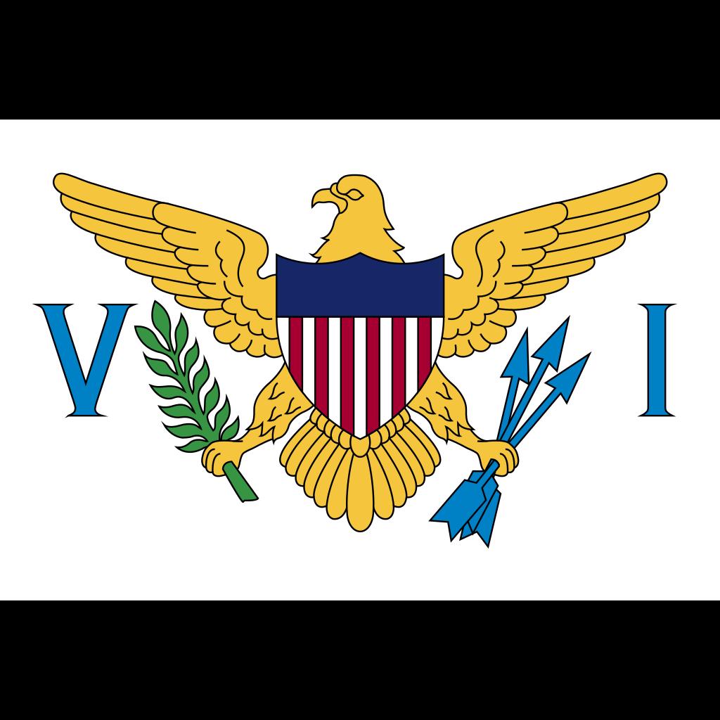 United states virgin islands flag icon