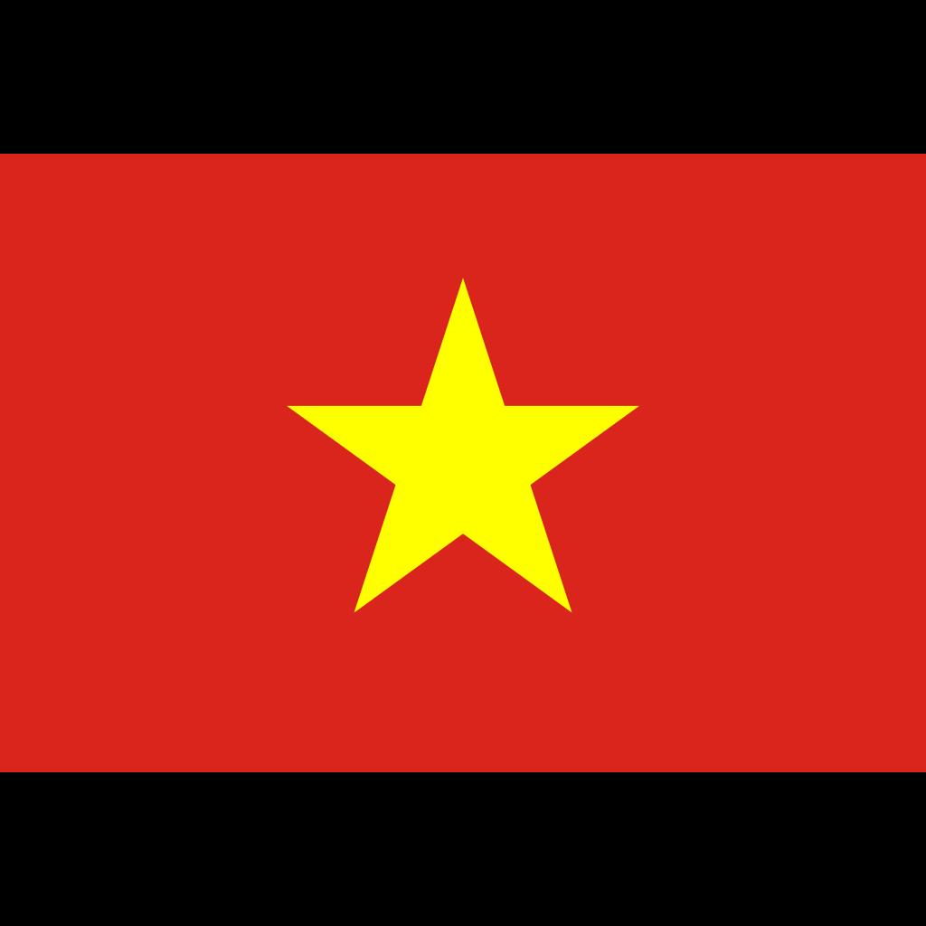 Socialist republic of vietnam flag icon