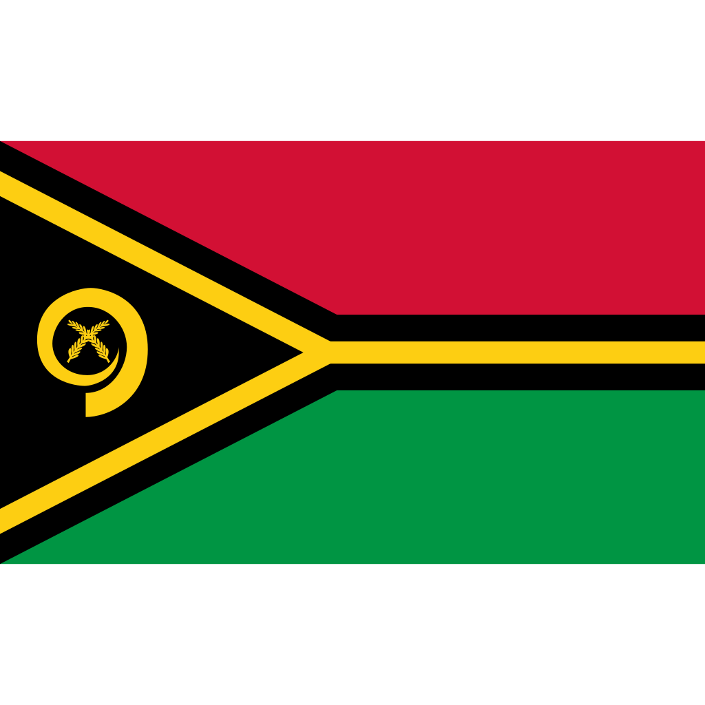 Republic of vanuatu flag icon