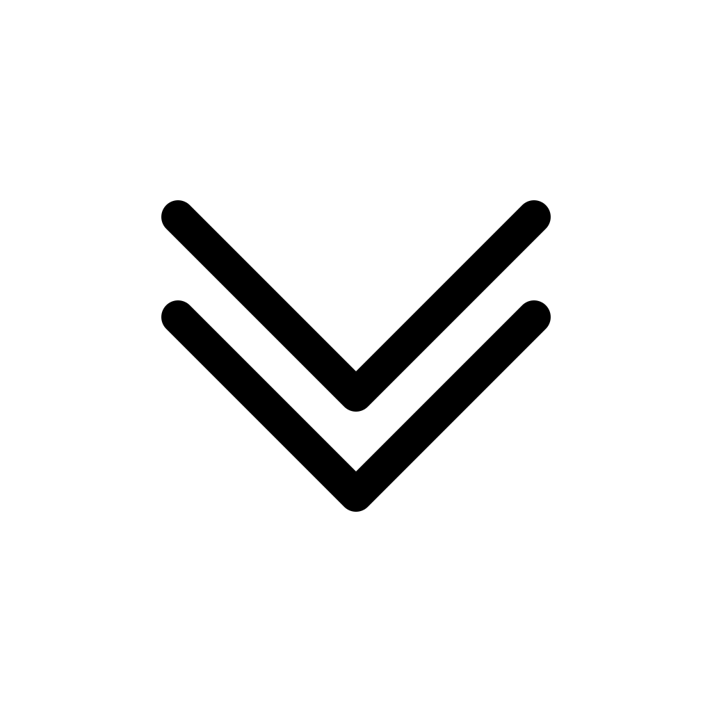 Chevrons down icon