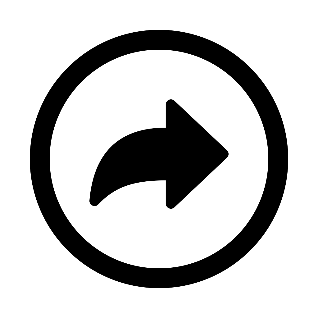 Arrow redo circle icon
