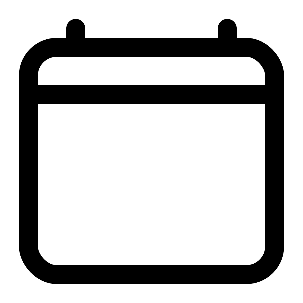 Calendar clear icon